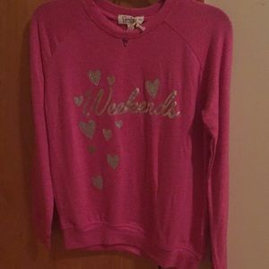 NWT-Jessica Simpson Girls - Weekends sweater